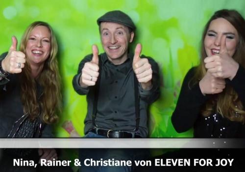Eleven for Joy Videobotschaft für