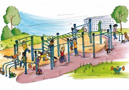 Umgestaltung des Indianerspielplatzes